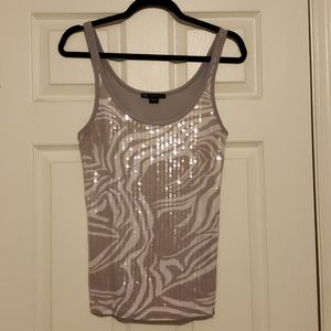Armani Exchange Sequin Top Size L